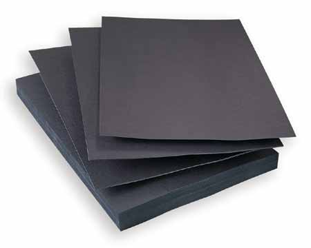 Black E Flute Corrugated Sheets Hexamount Archival
