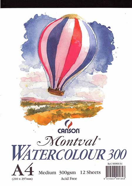 Canson Montval Watercolour Pads Canson Montval Watercolour Pad